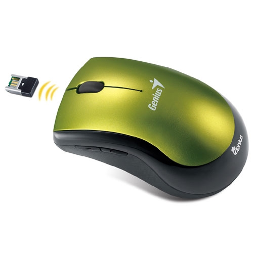 Mouse Ergo 7000 Yellow Eye Wireless  - Genius