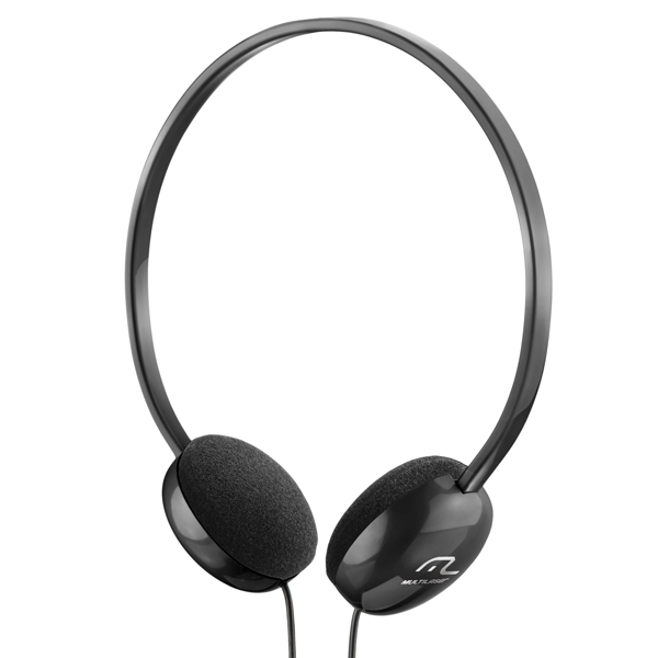 Fone Headphone Basico Preto PH063 - Multilaser