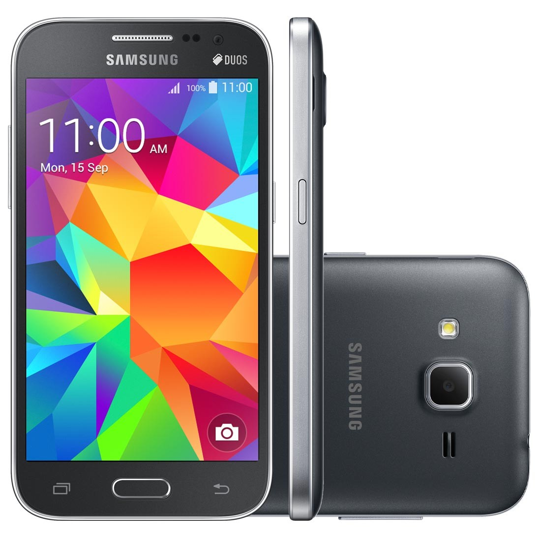 Smartphone Samsung Galaxy Win 2 Duos TV SM-G360BT, Android 4.4, Tela 4.5, 8GB, Câm 5MP, 4G, Cinza - Samsung
