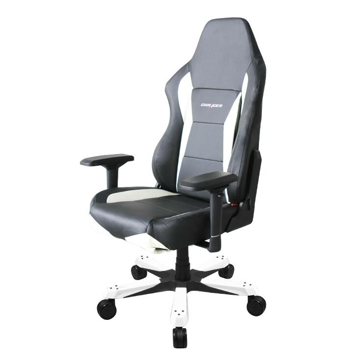 Cadeira M-Series OH/MY0/NW Preta/Branca - DXRacer