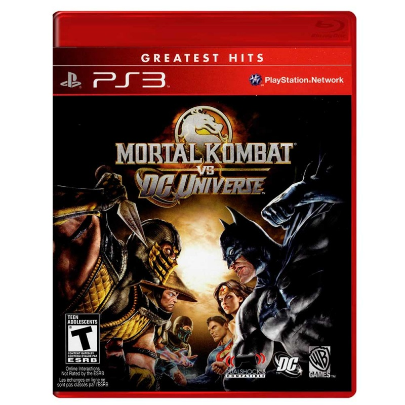 Jogo Mortal Kombat  Vs Dc Universe - Ps3 - WARNER BROS