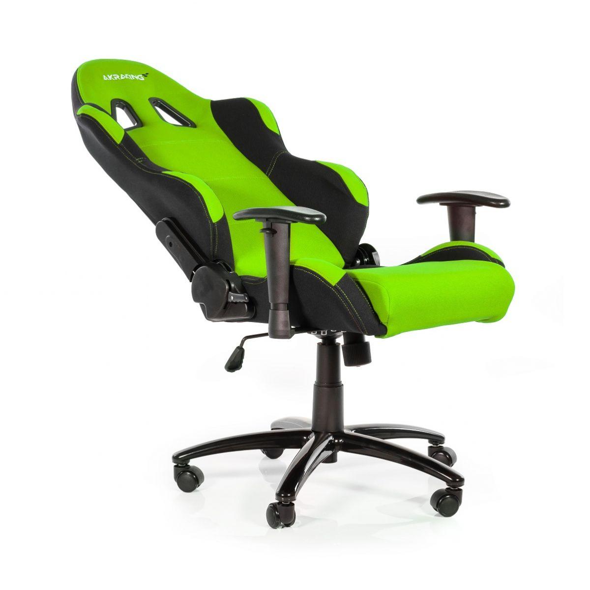 Cadeira AKRacing Prime Preto/Verde AK-K7018-BG - AKRacing