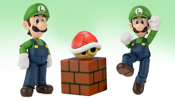 Luigi Super Mario Bros S.H. Figuarts Bandai