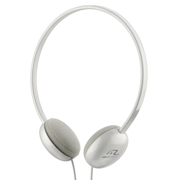 Fone Headphone Basico Branco PH064 - Multilaser