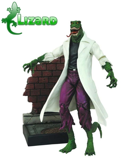 O Lagarto - Spider Man Marvel Select
