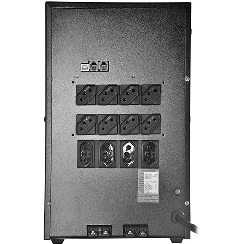 Nobreak UPS Professional 3000VA Full Range BIVOLT 404 2 Baterias Preto - Tsshara