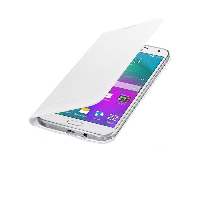 Capa Flip Wallet EF-WE700B para Galaxy E7 Branca - Samsung