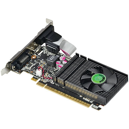 Placa de V�deo Nvidia GT740 1GB DDR3 128Bits VGA-740-C5-1024 - Point Of View