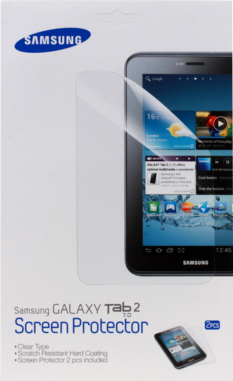 Película Protetora para Galaxy TAB 2 7 Polegadas (02 unidades) ETC-P1G5CEGSTD - Samsung
