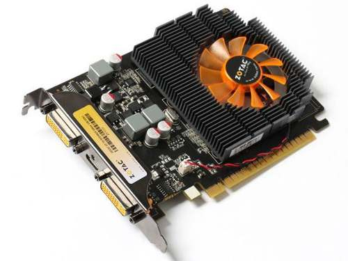 Placa de Vídeo Geforce GT730 1GB DDR3 128Bits ZT-71110-10L - Zotac