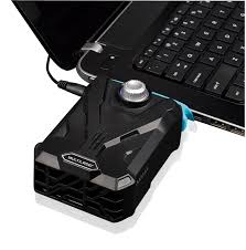 Cooler Para Notebook Warrior Heat Extractor AC268 - Multilaser