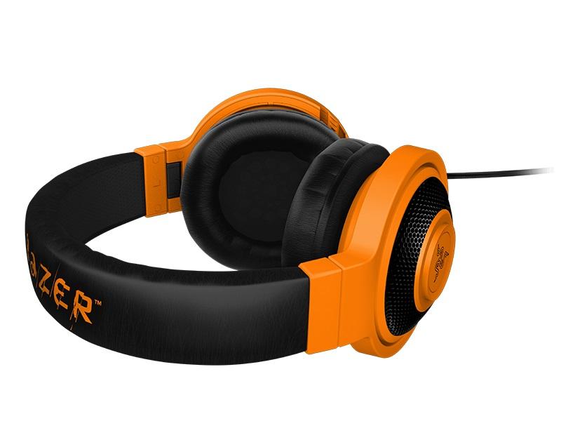 Fone de Ouvido com Microfone Kraken Pro Neon Laranja RZ04-00871100-R3M1 - Razer