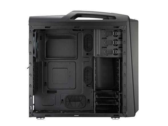Gabinete CM Storm Scout 2 Advanced SGC-2100-KWN3 Midnight Black s/fonte - CoolerMaster