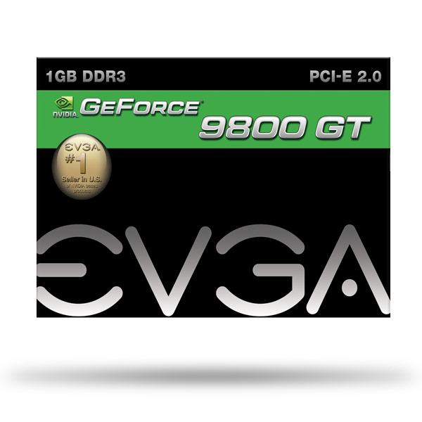 Placa de Video GeForce 9800GT 1GB DDR3 256Bits 01G-P3-N988-L1 - EVGA