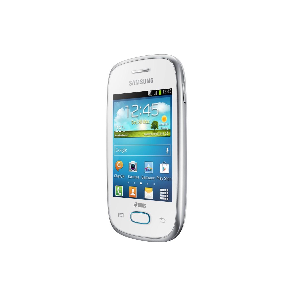 Smartphone Desbloqueado Samsung Galaxy Pocket Neo Duos GT-S5312B Branco, Camera 2MP, Wi-fi, 3G, GPS, Android 4.1 - Samsu