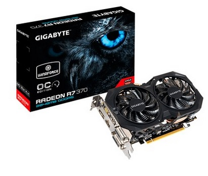 Placa de Vídeo R7 370 2GB DDR5 256Bit Windforce GV-R737WF2OC-2GD - Gigabyte