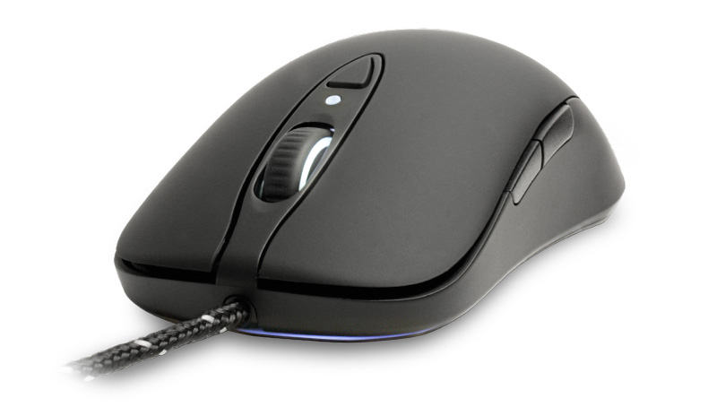 Mouse Gamer Laser Sensei Raw Preto (Emborrachado) 62155 - Steelseries