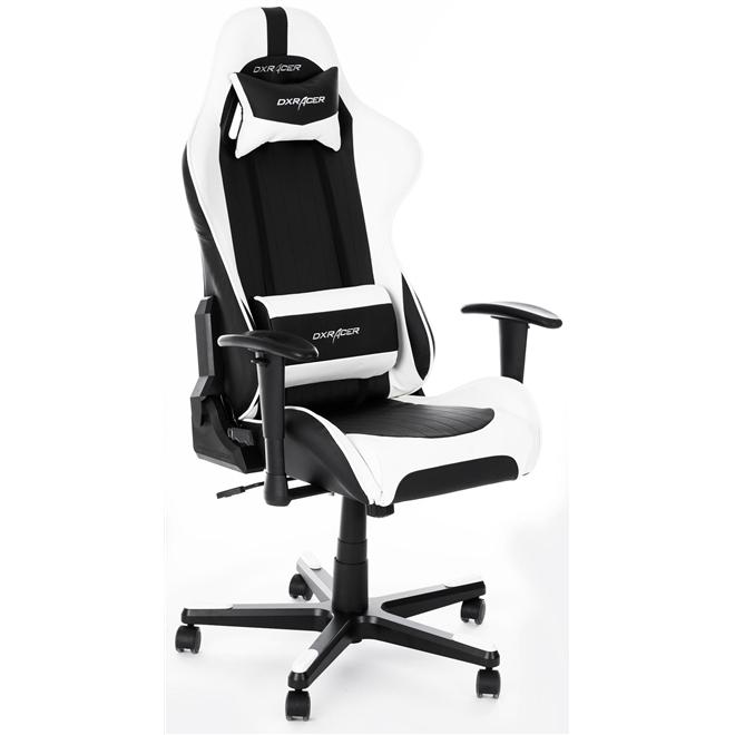 Cadeira F-Series OH/FE32 Preto/Branco - DXRacer