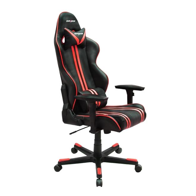 Cadeira R-Series OH/RF9/NR Preto/Vermelho - DXRacer