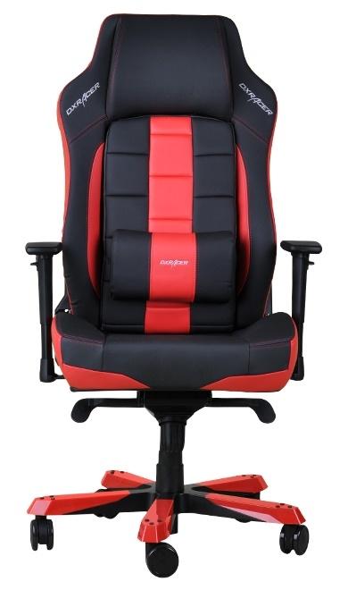 Cadeira C-Series CE120/NR Preto/Vermelho - DXRacer