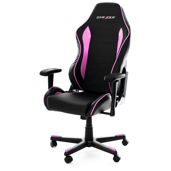 Cadeira D-Series OH/DF71/NR Preto/Rosa - DXRacer