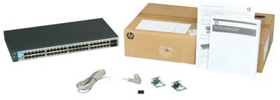 Switch 52 Portas ProCurve �1810-�48G (J9660A) - HP