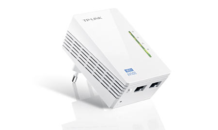 Wireless Extensor de Alcance TL-WPA4220 Powerline AV500 - Tplink
