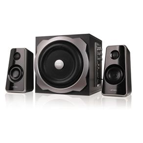 Subwoofer Multimidia, Bluetooth, Sdcard, Fm Controle Remoto 2.1 LD-CSG40UFB 40WRMS - Lendex