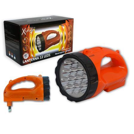 Lanterna Recarregável 12 leds XV2325 LU0026 - Xingu