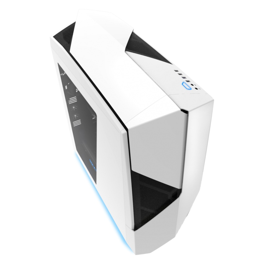 Gabinete Noctis 450 White + Blue Mid-Tower CA-N450W-W1 - NZXT