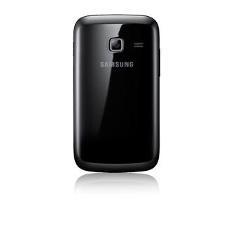 Smartphone Desbloqueado Galaxy Y Duos GT-S6102B Preto com Dual Chip, Android 2.3, Wi-Fi, 3G, GPS, Camera 3MP e MP3