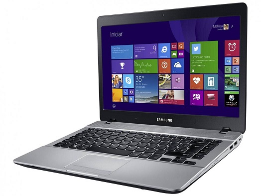 Notebook ATIV Book 3 370E4K-KDA Intel Dual Core 4GB HD 500GB DVD-RW Bluetooth Tela 14 Windows 8.1 - Samsung