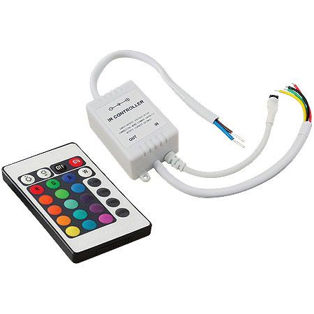 Controlador da Fita LED RGB com Controle Remoto sem Fio - Alltech