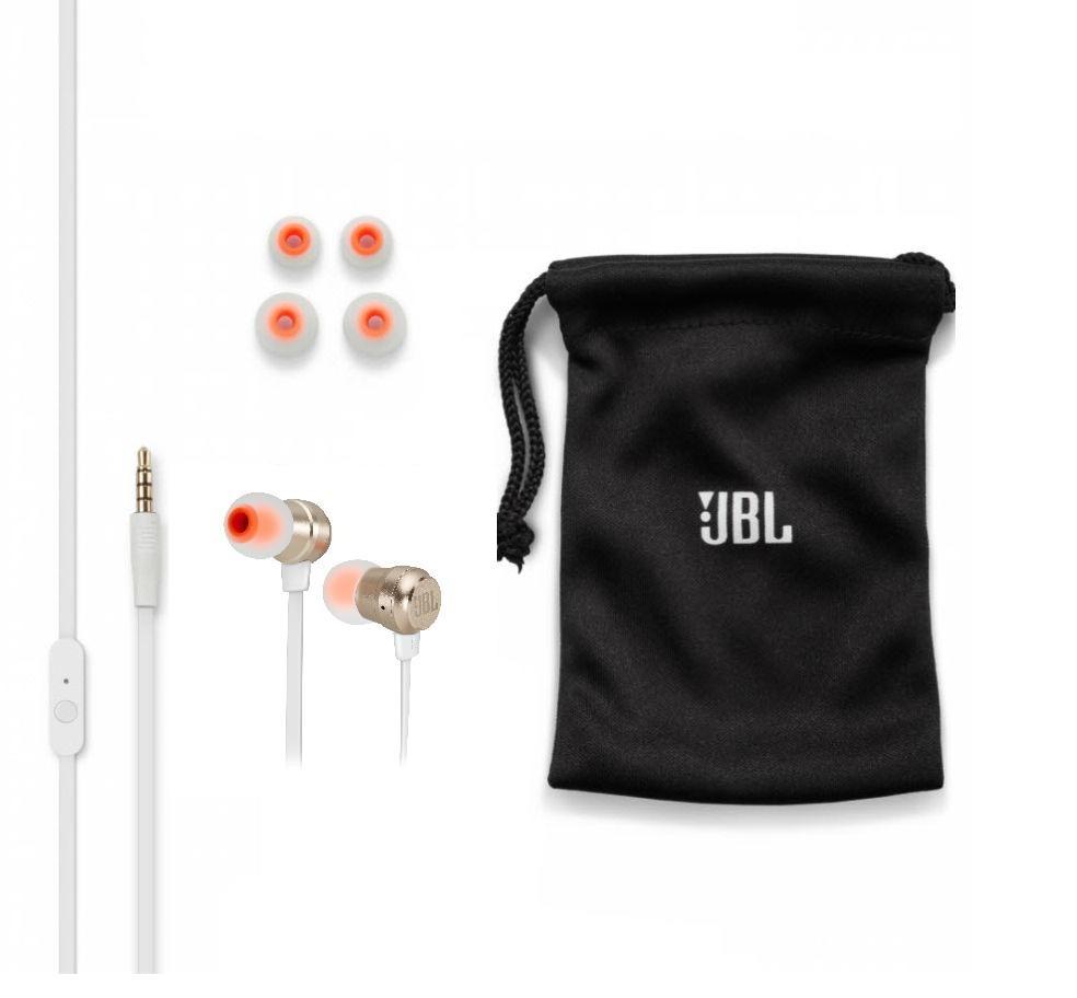 Fone de Ouvido T280A Dourado com Microfone Pure Bass T280AGLD - JBL