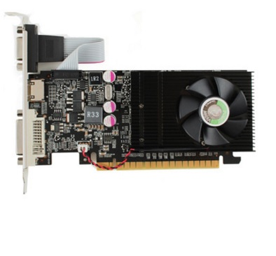 Placa de Vídeo Geforce GT640 1GB DDR3 128Bits VGA-640-C1-1024 - Point Of View