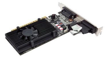 Placa de V�deo Geforce GT610 DDR3 64Bits 01G-P3-2615-KR - EVGA