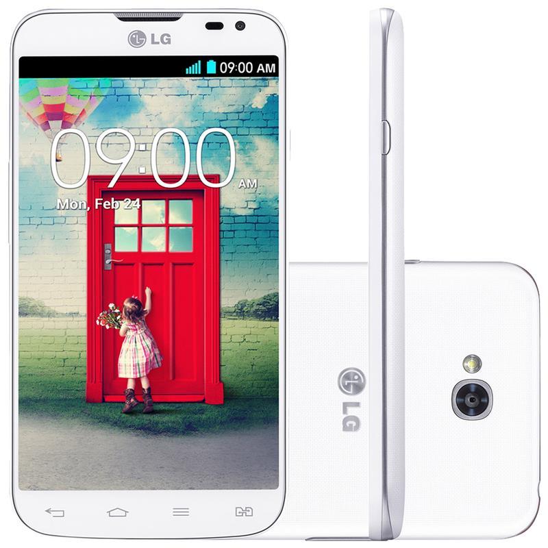 Smartphone Desbloqueado LG L90 Dual D410 Branco com Tela de 4.7, Dual Chip, Quad-Core 1.2GHz, Android 4.4 e Camera 8MP