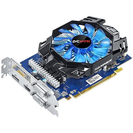 Placa de V�deo R7 360 Hammer 2GB DDR5 128Bits PH36012802D5 - PCYES