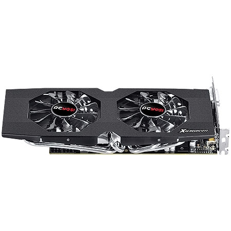 Placa de Vídeo R9 380 HammerX Dual Fan OC Edition 4GB DDR5 256Bits PH38025604D5OC - PCYES