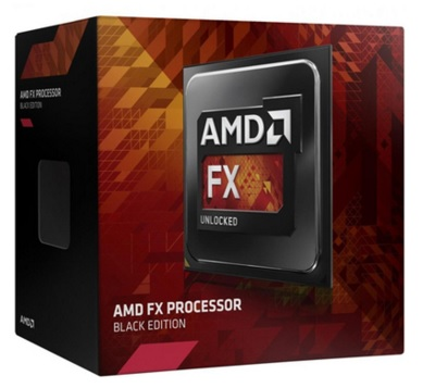 Processador AM3+ FX8370E Octa Core, Black Edition 16MB 3.3Ghz(4.3Ghz Max Turbo) FD837EWMHKBOX - AMD