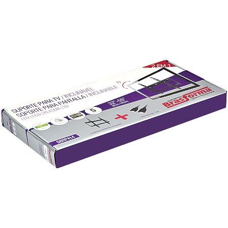 Suporte Inclin�vel Slim TV 32 a 55 SBRP414 - Brasforma