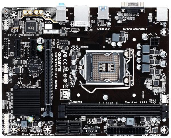 Placa Mãe LGA 1151 GA-H110M-S2 DDR3 (S/V/R) - Gigabyte