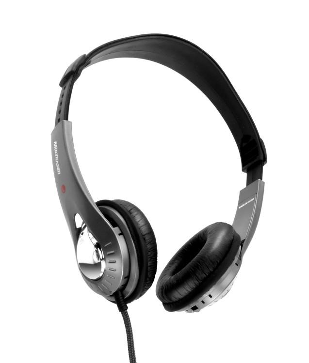 Fone de Ouvido C/Microfone no Fio Preto/Prata PH027 - Multilaser