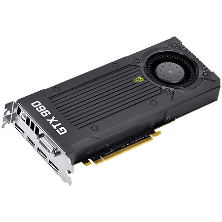 Placa de Vídeo Geforce GTX960 2GB 128Bits DDR5 96NPH8DND7UZ - Galax