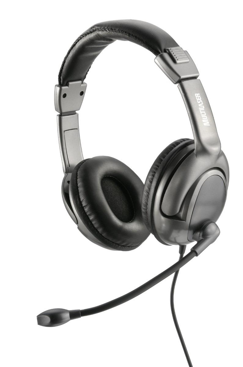 Fone De Ouvido USB Com Microfone Flexivel PH043 - Multilaser