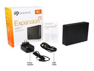 HD Externo Expansion 3,5 5TB USB 3.0 STEB5000100 - Seagate