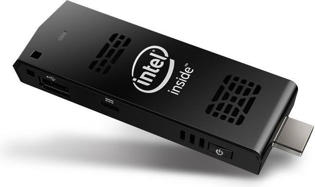 Computador Stick Intel Atom 1.33Ghz Z3735F 2GB 32GB WIFI Bluetooth Windows 10 BOXSTCK1A32WFCL - Intel