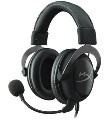 Headset Gamer USB HyperX 7.1 Cloud II KHX-HSCP-GM Preto - Kingston