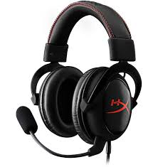 Headset Gamer HyperX CLoud Core KHX-HSCC-BK-LR Preto/Vermelho - Kingston