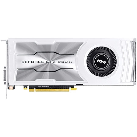 Placa de Vídeo Geforce GTX980 Ti 6GB DDR5 384Bits 980TI-6GD5-V1 - MSI